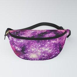 galaxy. Pink Fuchsia  Fanny Pack