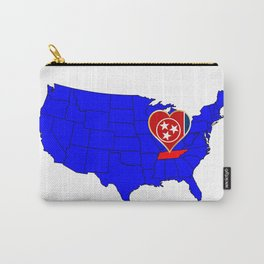 State of Tennessee Carry-All Pouch