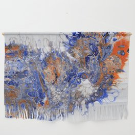 Team Splash, Orange and Blue Wall Hanging