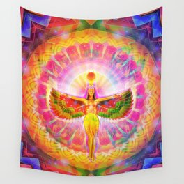 Egyptian Angel Wall Tapestry