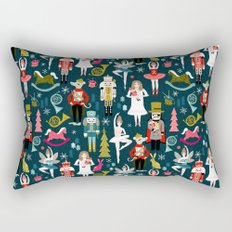 Nutcracker Ballet by Andrea Lauren  Rectangular Pillow