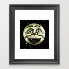 Rad Moon Rising Framed Art Print