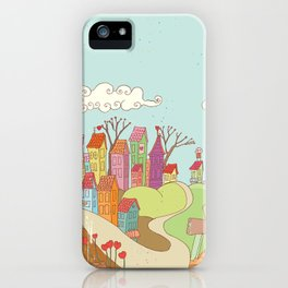 Urban Love iPhone Case