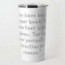 Dr Seuss glitter Travel Mug