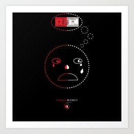 Blood Money Art Print