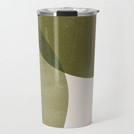 Minimal Semicircles Travel Mug