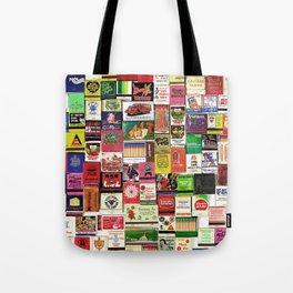 Antique Matchbooks Tote Bag