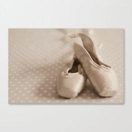 Dance en pointe Canvas Print