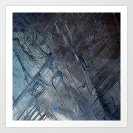 Linear Quartz 2 Art Print