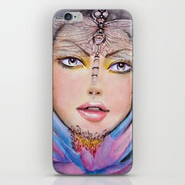 """Egyptian Lotus"" iPhone Skin"