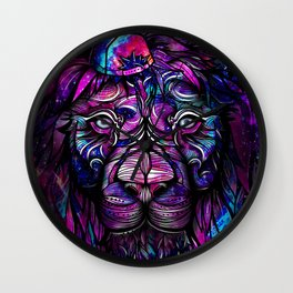 Galaxy Lion Wall Clock