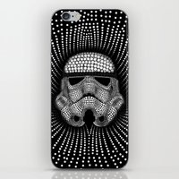 trooper iPhone & iPod Skins featuring Trooper Star Circle Wars by Msimioni