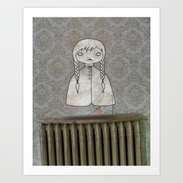 Ghost no. 1 Art Print