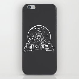 All Seeing Pie iPhone Skin