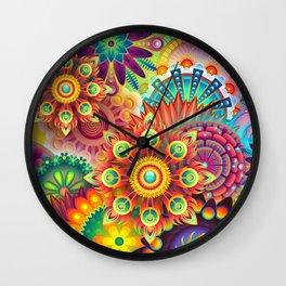Multi colours Wall Clock
