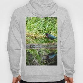 Little Green Heron Hoody