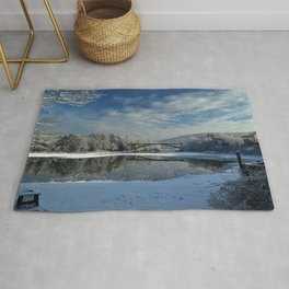 River View - Finally Looks Like Winter Rug