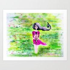 Breeze Driftin' On By... Art Print