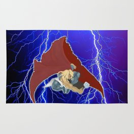 God of Lightning Rug