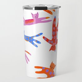 Cartwheel kitties Travel Mug