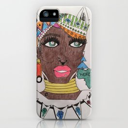 The Black Panther is Female iPhone Case