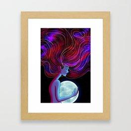 Stars In My Soul Framed Art Print