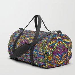 Groovy Doodle Colorful Art Duffle Bag