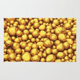 Raw gold Rug