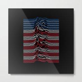 Joy Division - Unknown American Pleasures Metal Print