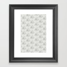 SX70 Pattern Framed Art Print