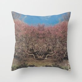 Hive Mind Holy Shroud.  Choice is yours.... Throw Pillow