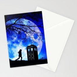 Tardis Night Stationery Cards