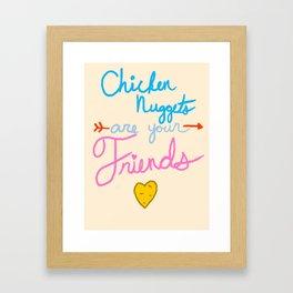 McFriendship Framed Art Print