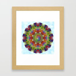 Relax Cyrcle Framed Art Print