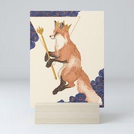 The Trickster King Mini Art Print