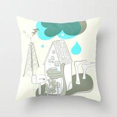 The Edge of Un-remarkable Throw Pillow