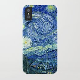 Vincent van Gogh Starry Night 1889 iPhone Case