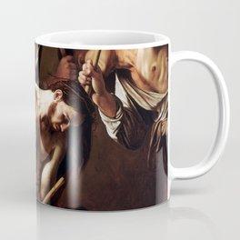 Caravaggio The Crowning with Thorns Coffee Mug