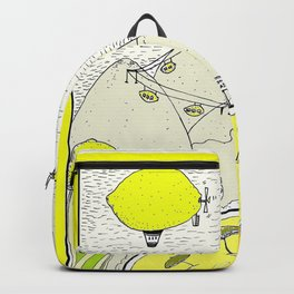Lemon paradise Backpack