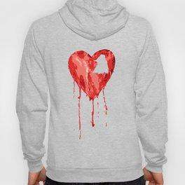 B/ood Heart Hoody