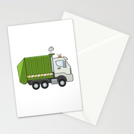 GarbageTruck Stationery Cards