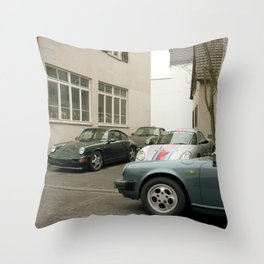 service stop Throw Pillow