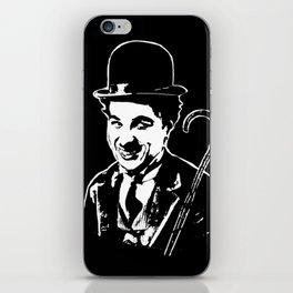CHARLIE CHAPLIN THE SILENT MOVIE STAR iPhone Skin