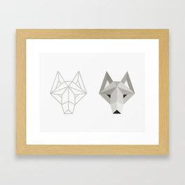 Wolfborg Framed Art Print