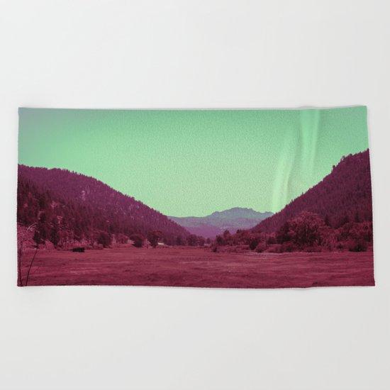 Buffalo Creek Beach Towel