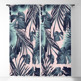 Tropical Jungle Leaves Dream #2 #tropical #decor #art #society6 Blackout Curtain