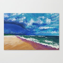 storm front over Salvo Canvas Print