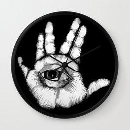 Six Finger Discount Wall Clock