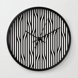 Modern Lines Wall Clock