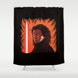 The Fire Inside Shower Curtain